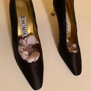 Vintage Escada heels.
